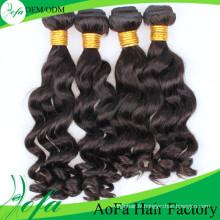 Cheveux vierges brésiliens de Remy de qualité supérieure, extension de cheveux humains