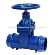 Gate Valve, Socket Ends with Rising Stem, Drawings are Available