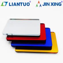 Publicidad de láminas de espejo de plástico acrílico PMMA de alta calidad