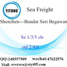 Shenzhen Port LCL konsolidering till Bandar Seri Begawan