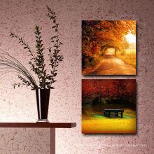 Imagem quente do outono da venda à cópia feita sob encomenda da lona para o vestíbulo