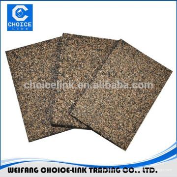 Feltros para telhados de asfalto modificados com borracha