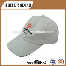 Softextile kundenspezifische Baseballmütze-Baumwoll 6 Verkleidungs-Hut-Baseballmütze mit Stickerei-Firmenzeichen-Kappen-Fabrik