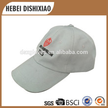 Softextile Custom Baseball Cap Algodão 6 Painel Chapéu Boné de beisebol com Bordado Logo Cap Factory