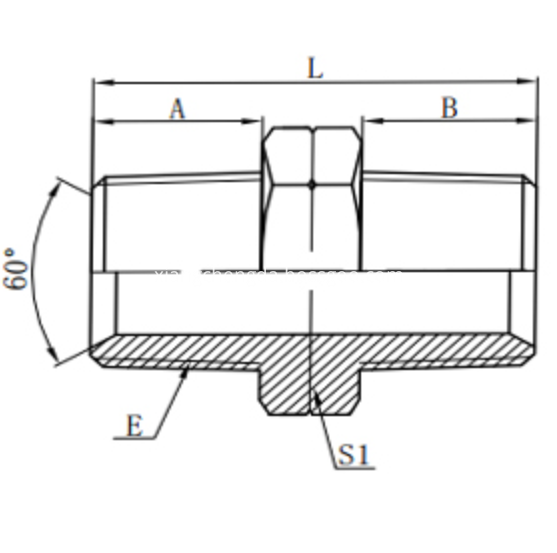 Hydraulic Npt Adapter