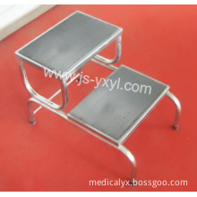 Chrome Plated 2 Step Ladder Stool