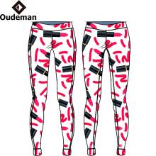 pantalones de yoga de calidad superior de las mujeres pantalones de yoga al por mayor personalizados polainas