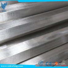 304 hot rolled Stainless Steel bright finish hex bar custome size