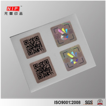 Hologram Security Void Stickers with Individual QR Code Printing