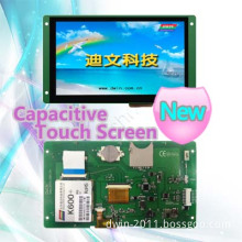 Capacitive Touch Screen, 7inches, RS232, Smart LCD Module, Dmt80480t070_07wt