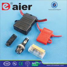 Daier in line car auto fuse holder
