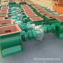 Air lock rotary valve feeder