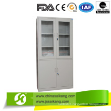 Hospital Instrument Cabinet Two Parts with Glass Doors