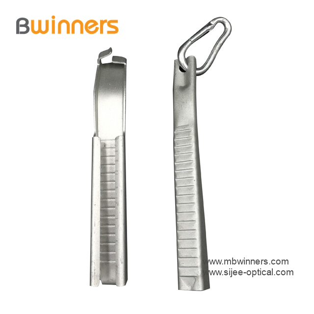Aluminum Flat Cable Clamp Drop Wire Clip