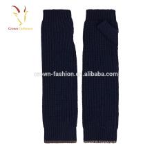 Chauffe-bras sans manches longs chauds d'hiver de mode