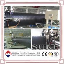 Kunststoffstahl verstärkt HDPE Wickelrohr Produktionslinie