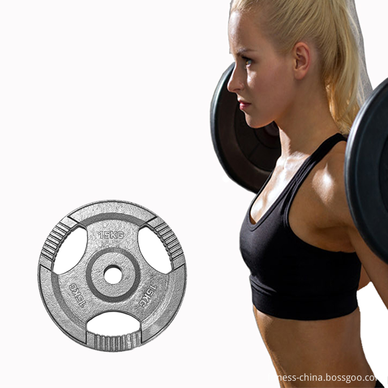 15kg Tri Grip Metal Weight Plates
