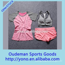 Sexy quick dry OEM women yoga wear suits at factory price