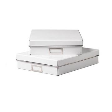 High End Matte White Karton Geschenk Verpackung Box