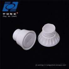 Douille en céramique pour éclairage à haute teneur en alumine