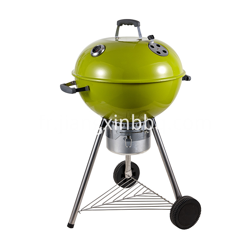 18 Deluxe Weber Style Grill Green