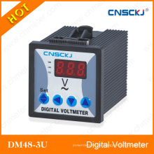 Voltaje digital AC Dm48-3u-1 de tres fases LED