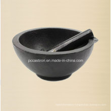 Preseasoned Cast Iron Mortars and Pestles Manufacturer From China