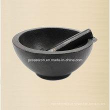 Argamassas pré-moldadas de ferro fundido e pilões Fabricante Da China