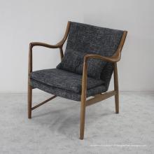 Móveis de madeira de alta qualidade Sala de estar Cadeira de sofá confortável