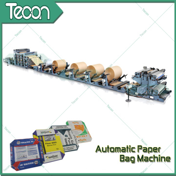 Full Automatic Kraft Paper Bag Making Machine (ZT9802S & HD4916BD)