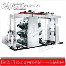 Maquinaria tejida de la impresión del Flexo de la materia (CH886-1600W)