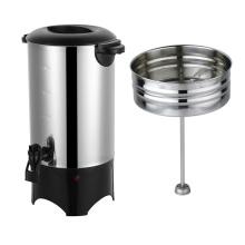 Kaffeekessel aus Edelstahl