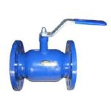 Válvula de esfera soldada com flange corpo Wcb