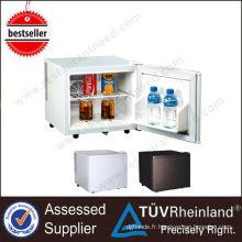 Mini-bar professionnel blanc / noir robuste sous le bar réfrigérateur