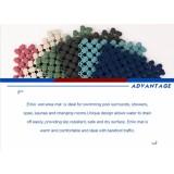 Anti-slip PVC wet area mat