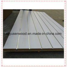 4′*8′ 11 Slots Cheap Display MDF/Show Board/Slatwall Panels for Shop