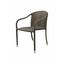 Chaise en aluminium en rotin en aluminium (BP-C117)