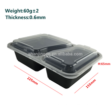 pp a prueba de fugas para llevar microondas conveniente convenient escuela tiffin niños envases de preparación de comida de plástico
