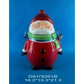 Ceramic Santa Claus Airtight Storage Canister