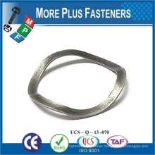 Made in Taiwan Bearing Carbon Steel Extension Tube Forend Wave Spring Washer
