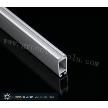 Riel inferior de persiana enrollable de aluminio con recubrimiento de polvo blanco