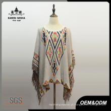 Moda Feminina Fringe Triangle Patterned Clothes