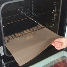 Non-stick Oven Mat , Made Of Heavy Duty PTFE Coating Fabric