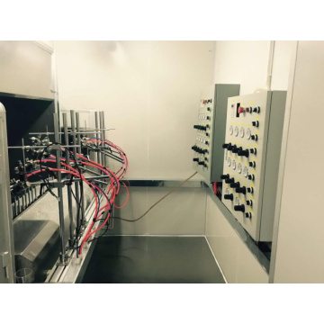 auto spraying line for glass wine bottle