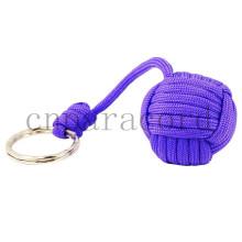 Puño moneky púrpura cualquier tamaño de bola de acero y color mezclado disponible