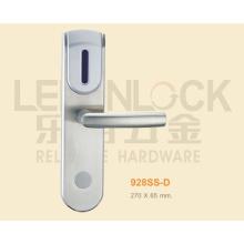 cerradura de puerta de lector de tarjeta digital de hotel de acero inoxidable de alto grado