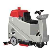 professional popular battery power electronic big size ride on floor cleaning machine for exhibition halls waiting rooms plazas
