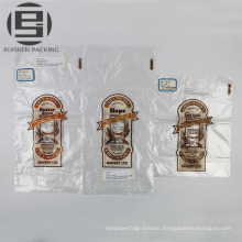 Transparent bread cake plastic carrier bags