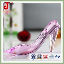 Кристалл розовый туфли для свадебных подарков (СД-кг-100)