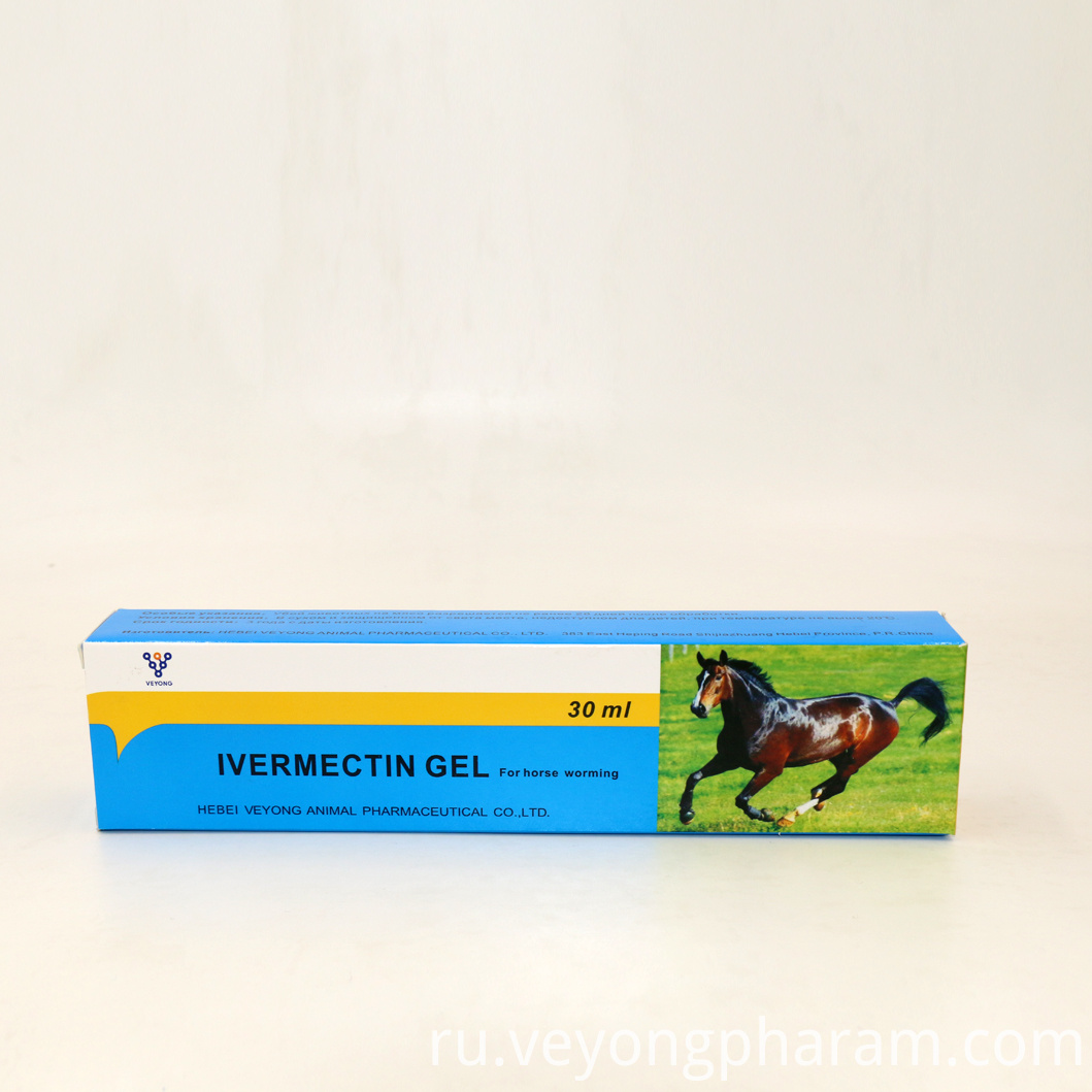 High Quality 30ml Ivermectin Gel for Horses